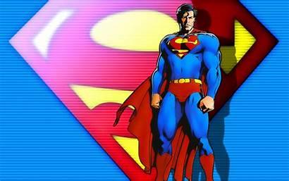 Superman Cartoon Parede Papel Desktop Wallpapers Gambar