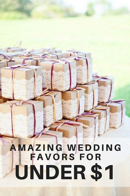 wedding favors for less than 1 wedding ideas in 2019