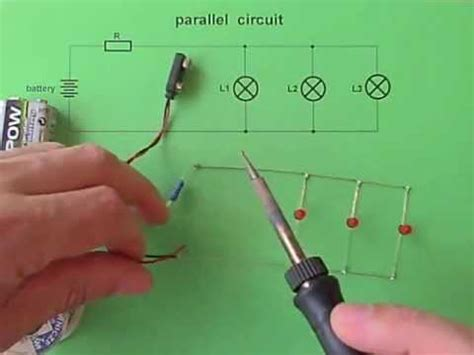 Parallel Circuit Leds Switches Youtube