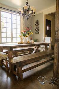 Woodwork Dinner Table Bench Plans PDF Plans