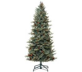 bethlehem lights 6 5 blue spruce christmas tree w instant power qvc com