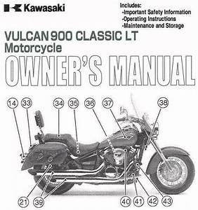 Buy 2009 Kawasaki Vulcan 900 Classic Lt Motorcycle Owners Manual
