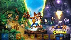 Crash Bandicoot N Sane Trilogy Launch Dynamic Theme PS4