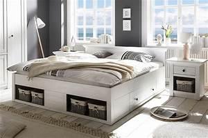 Doppelbett Weiß Holz : imv steinheim doppelbett westerland wei m bel letz ihr online shop ~ Frokenaadalensverden.com Haus und Dekorationen