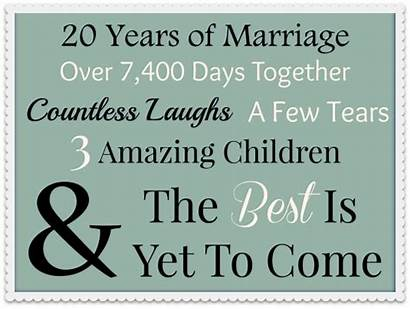 Anniversary 20th Happy Reasons Why Marriage Mom