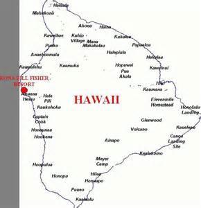 Kona Hawaii Map