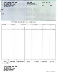 Free Blank Pay Check Stubs Template