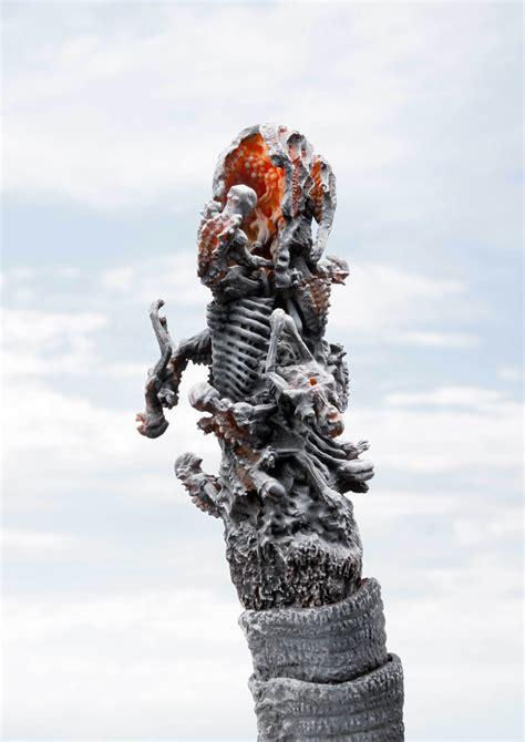 sh monsterarts frozen fourth form shin godzilla