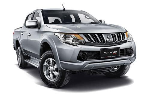 Mitsubishi Triton by Mitsubishi Triton Vgt At Gl New Variant Now Available In