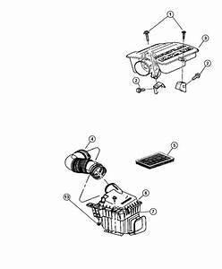 Chrysler Aspen Cover  Air Cleaner