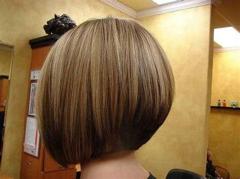2019 Latest Inverted Bob Haircut Back View