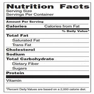 Top secret reviews blank nutrition label for Blank nutrition facts label template