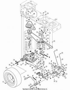Troy Bilt 14aa80tp766 Big Red Horse  2007  Parts Diagram
