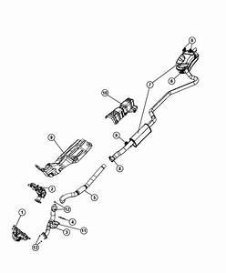 2009 Dodge Journey Pipe  Exhaust  Downpipe  Left Hand