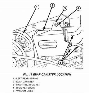 Evap Location  Where Is The Evap Canister Located On A