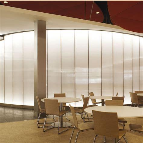 cloison et faux plafond syst 232 me de cloison et faux plafond translucide en panneaux danpalon agencement everlite concept