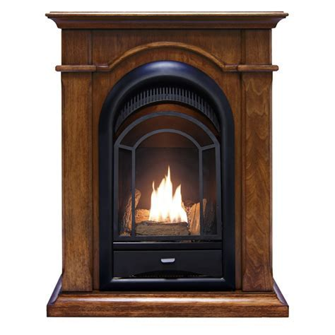 ProCom Dual Fuel Ventless Fireplace, 15,000 BTU's