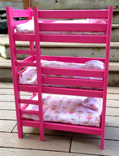 triple doll bunk bed ana white