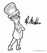 Cyberchase Coloring Pages Cartoon Marbles Dr Character Sheets Characters Printable Found sketch template