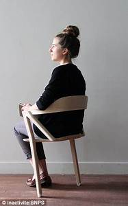 Would YOU sit on this chair to live longer? Two-legged ...