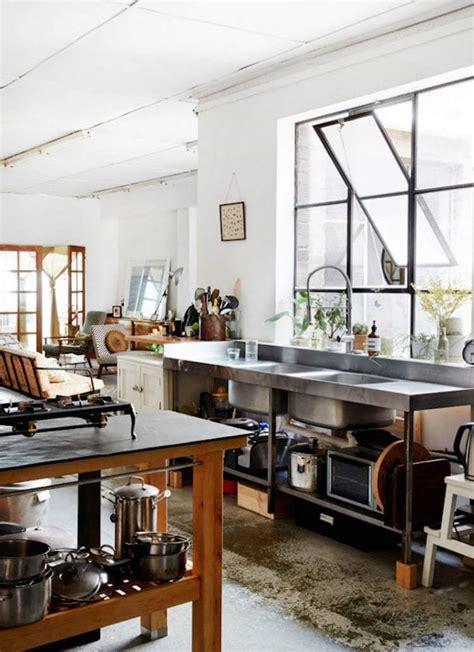 cuisine industrielle inox cuisine industrielle contemporaine en 50 photos formidables