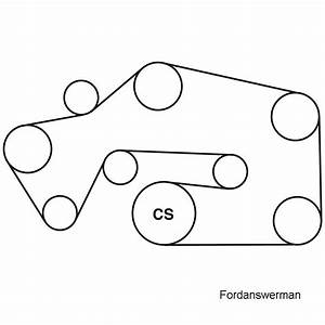 I Need A Diagram For A 2000 Lincoln Ls Serpentine Belt