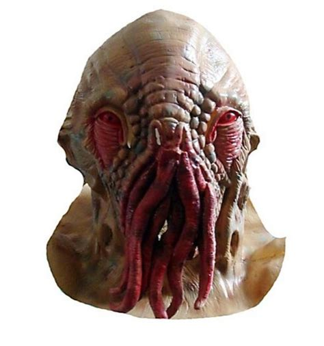 Halloween Silicone Half Masks by Doctor Dr Who Cosplay Creepy Latex Ood Octopus Mask Same