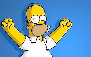 Homer Simpson en direct grâce au motion capture.