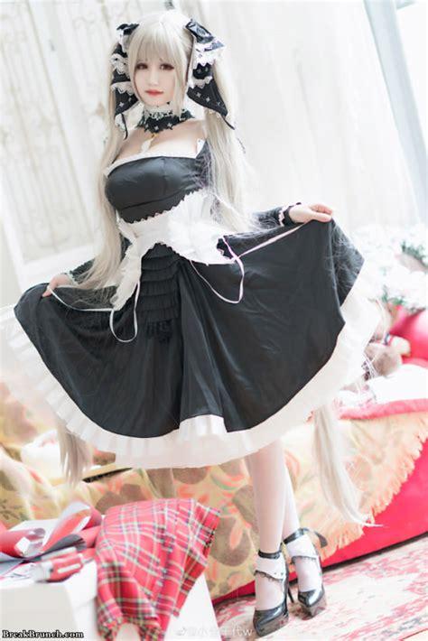 azur lane illustrious cosplay  xiaocangqiandai  pics