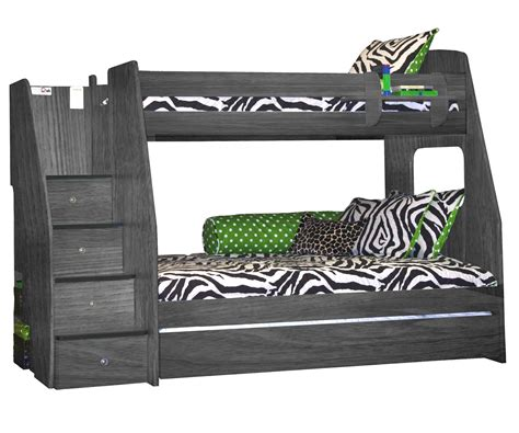 full over desk bunk bed bunk beds twin over full kids furniture ideas
