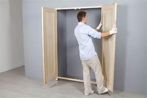 Construire Un Placard : immobilier travaux construire un placard immobilier ~ Premium-room.com Idées de Décoration