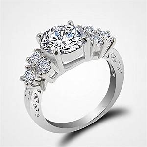 jacob alex ring 580 ct lab diamond white sapphire wedding With best price white gold wedding rings