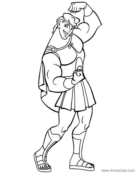 Coloring Pages Disney by Disney S Hercules Coloring Pages Disneyclips
