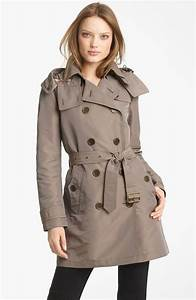 Trench Coat Burberry Homme : burberry brit double breasted trench coat nordstrom ~ Melissatoandfro.com Idées de Décoration