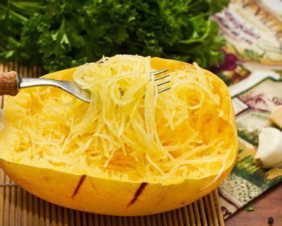recette courge spaghettis  la carbonara