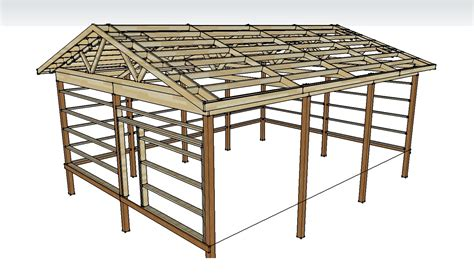 pole shed plans pole barn digital downloads diy