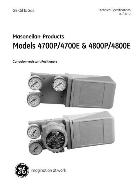 Instrumentation – Baker Hughes Masoneilan | Valvenco Limited