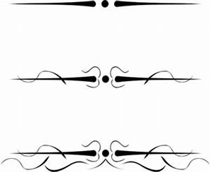 6404 free decorative line divider clipart | Public domain ...
