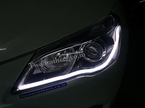 From the inside, maruti suzuki ciaz interiors truly define comfort on wheels. Maruti Suzuki Ciaz Concept DRL Headlights