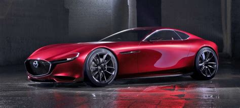 The Mazda Rx-vision Is Gorgeous Because It's Inspired By