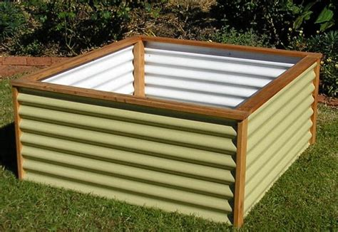 Corrugated Metal Garden Beds by 17 Best Images About Raised Planters On
