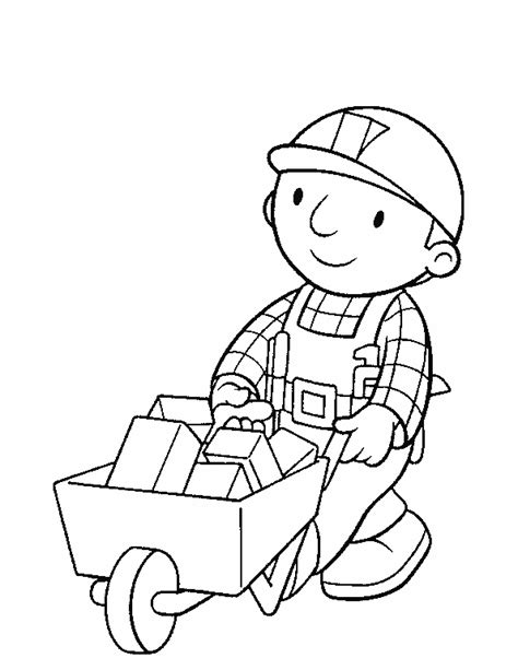 bob the builder coloring pages bob the builder coloring pages coloringpagesabc