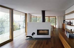 Holzbalken Als Raumteiler : 70 moderne innovative luxus interieur ideen f rs wohnzimmer ~ Sanjose-hotels-ca.com Haus und Dekorationen