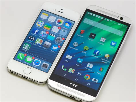 htc one m8 vs iphone 6 iphone 6 vs htc one m8 what we so far