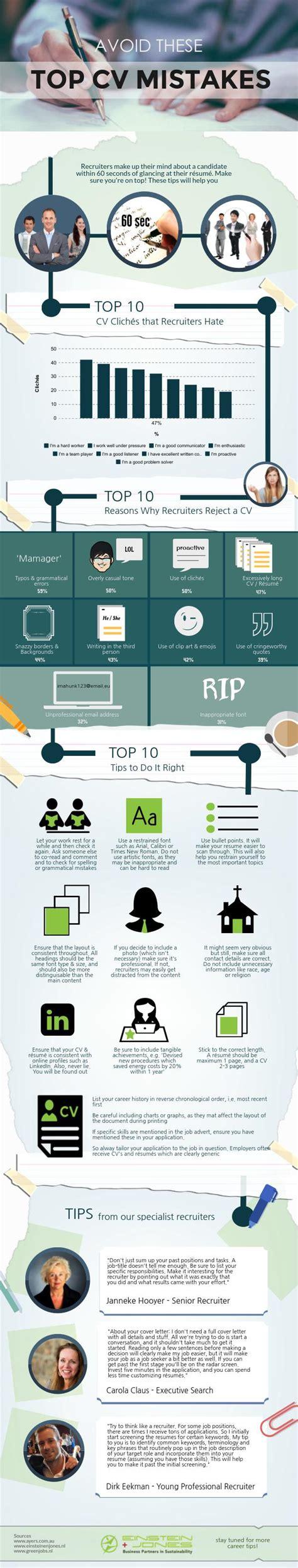 avoid these top cv mistakes piktochart visual editor