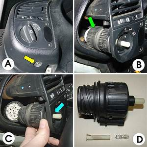 Bmw E36 3-series Headlamp Switch Replacement  1992