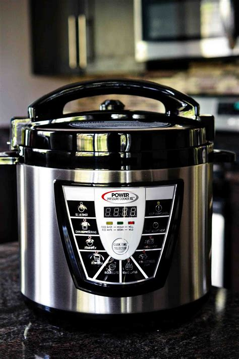 power cooker pressure xl kitchen cooking space save cook slow express steam machine stew touch effortlessly conventional faster prepare methods