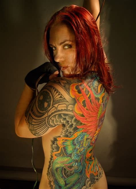 25+ Marvelous Full Back Tattoo Designs, you should see