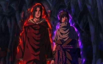 Itachi Uchiha Sasuke Sharingan Naruto Wallpapers Background