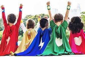 superhero, half, term, challenge, for, children